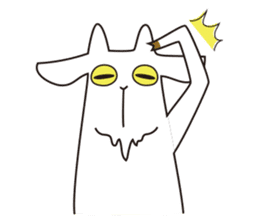 Yagi Be~e of goat's house sticker #554677