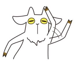 Yagi Be~e of goat's house sticker #554680