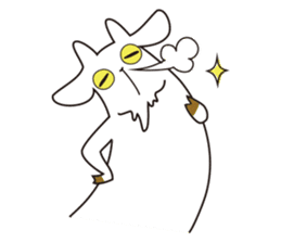 Yagi Be~e of goat's house sticker #554682