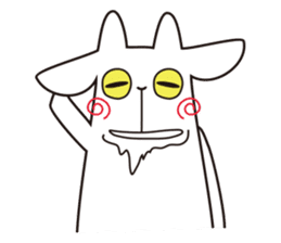 Yagi Be~e of goat's house sticker #554685