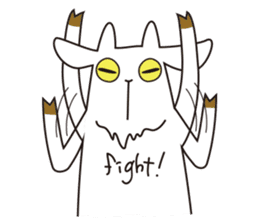 Yagi Be~e of goat's house sticker #554694