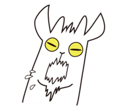 Yagi Be~e of goat's house sticker #554707