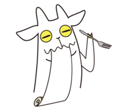 Yagi Be~e of goat's house sticker #554708
