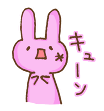 Emoticon's Bunny. sticker #554727