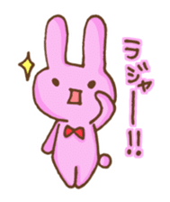 Emoticon's Bunny. sticker #554731