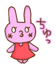 Emoticon's Bunny. sticker #554740