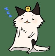 soothing cat HANACHAN sticker #554837