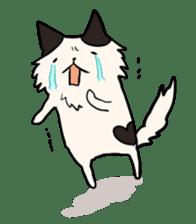 soothing cat HANACHAN sticker #554839