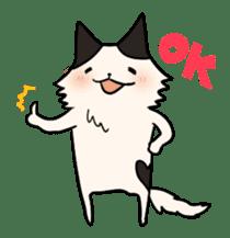 soothing cat HANACHAN sticker #554840