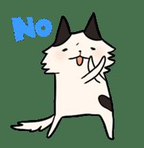 soothing cat HANACHAN sticker #554841