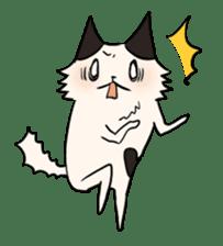 soothing cat HANACHAN sticker #554843