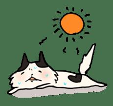 soothing cat HANACHAN sticker #554844