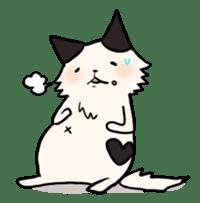 soothing cat HANACHAN sticker #554846