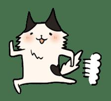soothing cat HANACHAN sticker #554849