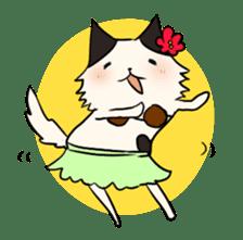 soothing cat HANACHAN sticker #554850