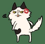 soothing cat HANACHAN sticker #554851