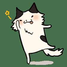 soothing cat HANACHAN sticker #554853