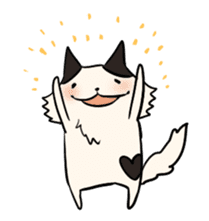 soothing cat HANACHAN sticker #554854