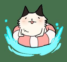 soothing cat HANACHAN sticker #554856