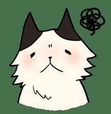soothing cat HANACHAN sticker #554858