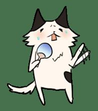 soothing cat HANACHAN sticker #554860