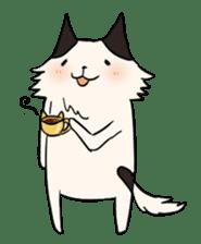 soothing cat HANACHAN sticker #554863