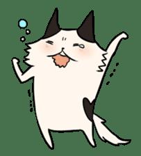 soothing cat HANACHAN sticker #554864