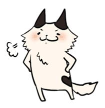 soothing cat HANACHAN sticker #554869