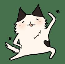 soothing cat HANACHAN sticker #554871