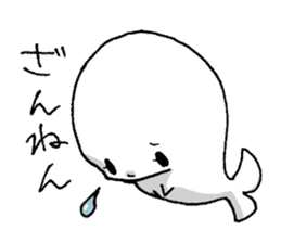 Of beluga, Iruko. sticker #555258