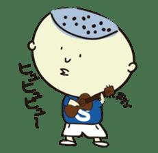 Shota speaks in Hiroshima valve! sticker #555473