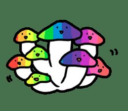 I am mushroom sticker #555541