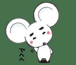 MAROMAYU mouse Sticker sticker #556236