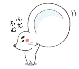 MAROMAYU mouse Sticker sticker #556240