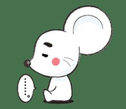 MAROMAYU mouse Sticker sticker #556247
