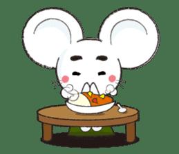 MAROMAYU mouse Sticker sticker #556251