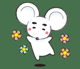 MAROMAYU mouse Sticker sticker #556254