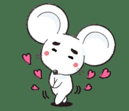 MAROMAYU mouse Sticker sticker #556255