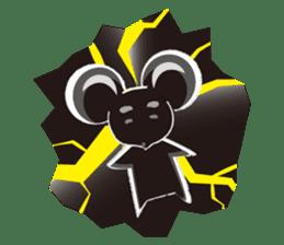 MAROMAYU mouse Sticker sticker #556261