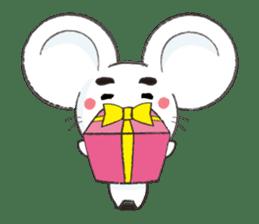 MAROMAYU mouse Sticker sticker #556268