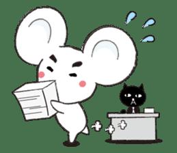 MAROMAYU mouse Sticker sticker #556270