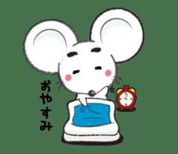 MAROMAYU mouse Sticker sticker #556273