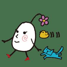 Lady-Tamako-boiled egg sticker #556714