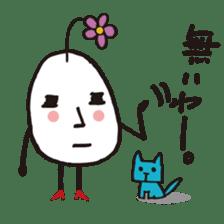 Lady-Tamako-boiled egg sticker #556728