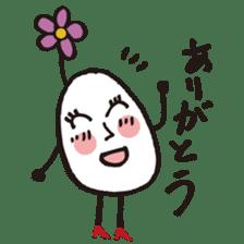 Lady-Tamako-boiled egg sticker #556738