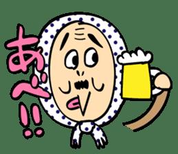 Uncle Akita sticker #557172