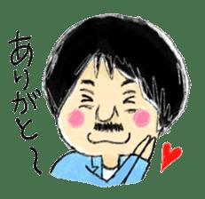 Mr.Chobihige sticker #557436