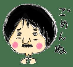 Mr.Chobihige sticker #557437