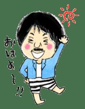 Mr.Chobihige sticker #557443