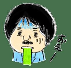 Mr.Chobihige sticker #557452